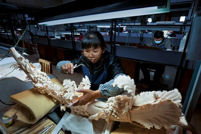Carving Factory in China