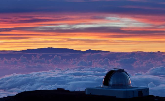 Home of the Keeling Curve; Mauna Loa Observatory in Hilo, Hawaii.  Photo Credit; AlexBlog