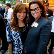 Ms. Iris Ho; Wildlife Campaign Manager, Humane Society International and Christina LaMonica, at the Ivory Crush Reception at Tavern on the Green in New York City.