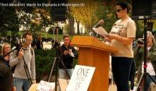 Ivory Free Ohio Founder; Christina LaMonica delivers White House speech.