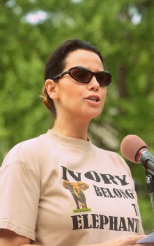 Ivory Free Ohio delivers White House Speech. Photo Credit; Phillip Mcauliffe
