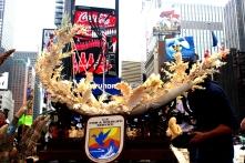 New York Ivory Crush in Times Square, June, 2015. Photo Credit; Christina LaMonica Imagery